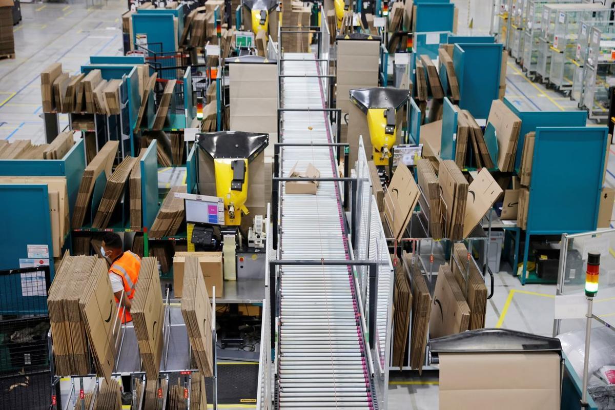 Amazon ha visto un incremento sin precedentes de su negocio desde que se desató la pandemia.