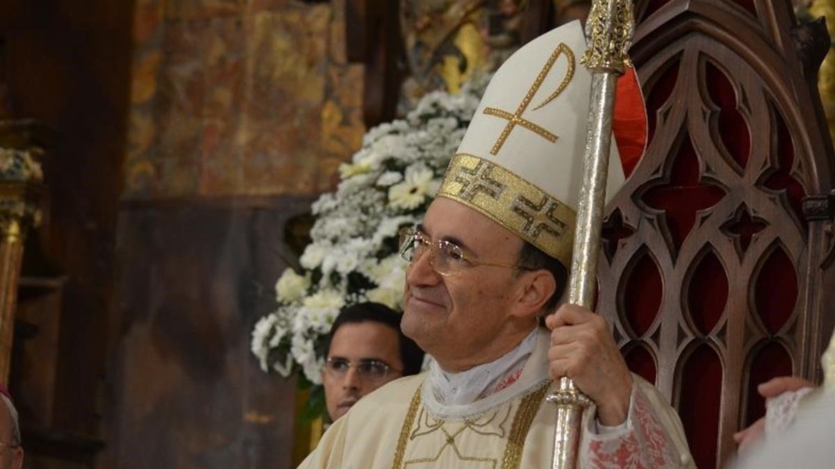 Fidel Herráez Vegas, arzobispo de Burgos.