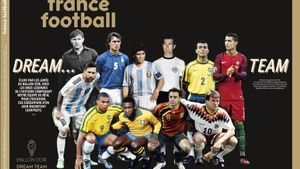 El Dream Team de France Football, elegido este lunes.