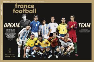 El Dream Team de France Football, elegido este lunes.