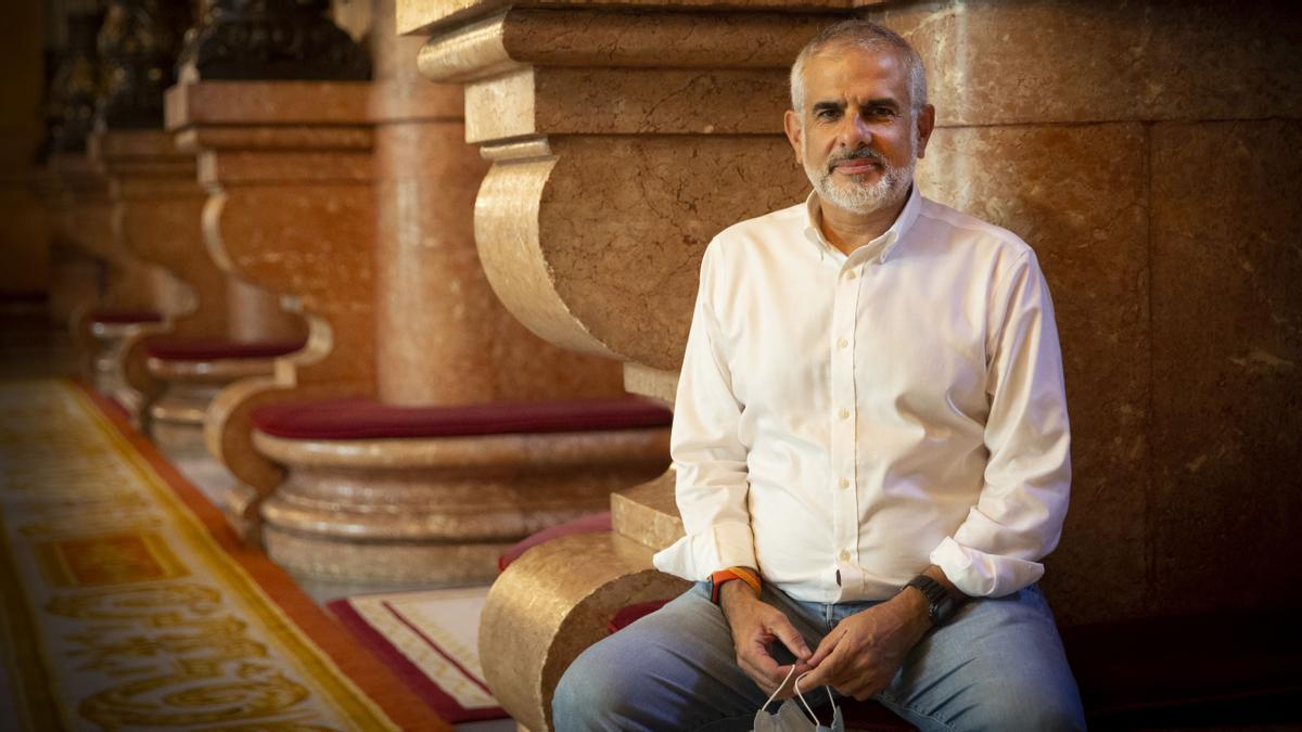 """Carlos Carrizosa: """"La gasolina del 'procés' es la división del independentismo"""""""