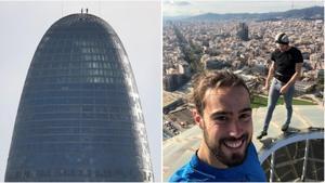 La història darrere del 'selfie' a la torre Glòries