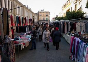 Imagen de archivo del mercado de la plaza Cuba de Mataró.