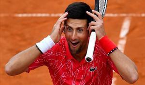 Novaj Djokovic, en Belgrado, el 12 de junio.
