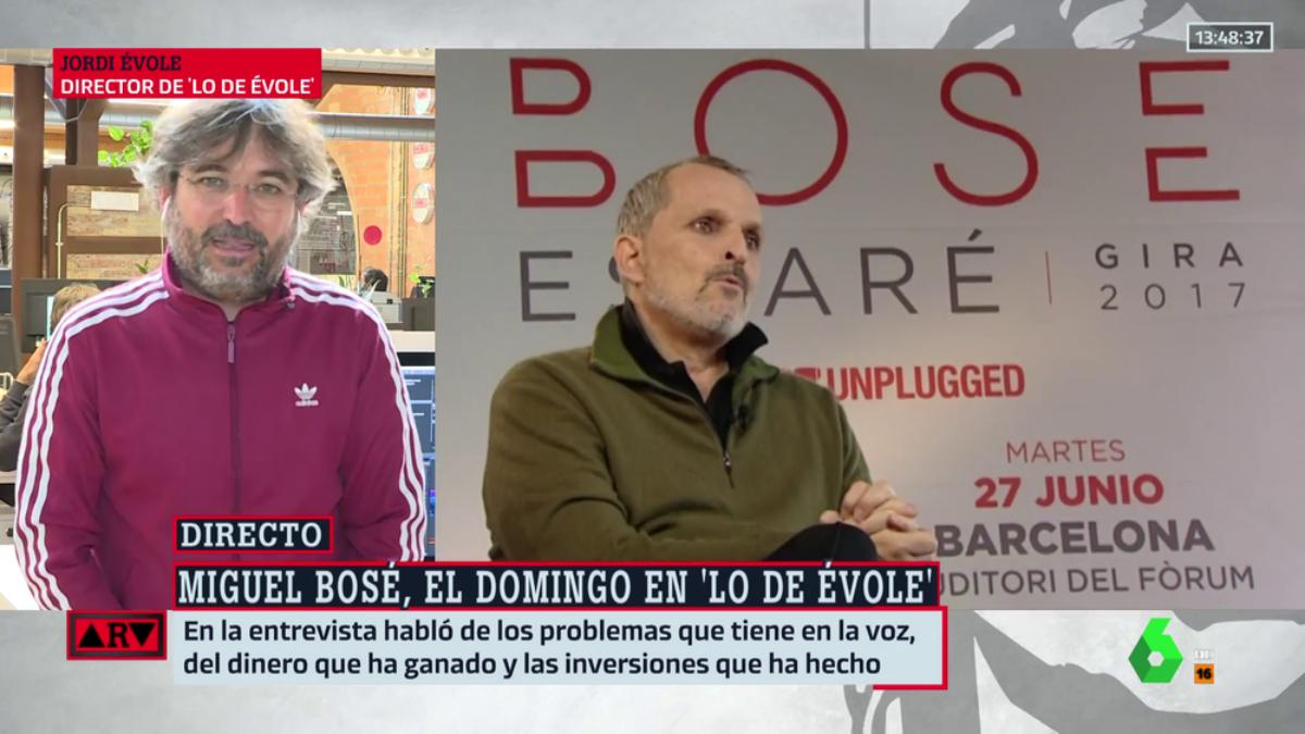 Jordi Évole en 'Al rojo vivo'