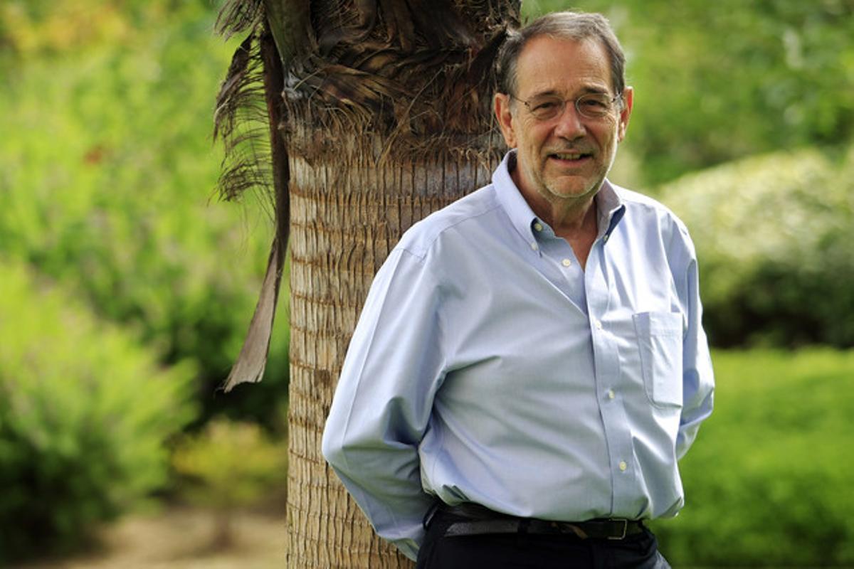 Javier Solana, en Cornellà.