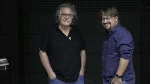 Joan Tardà y Xavi Domènech.