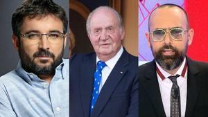 Jordi Évole y Risto Mejide triunfan en la red con sus mensajes sobre la salida del Rey