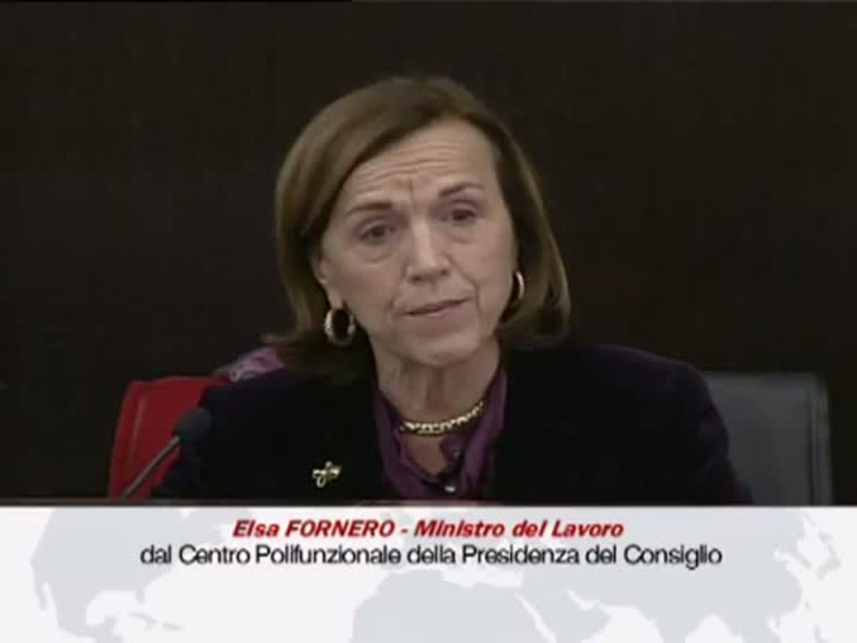 Las lágrimas de Elsa Fornero al anunciar los recortes en las pensiones.