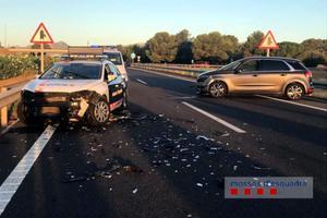 Detingut a Cambrils un conductor que va circular 36 quilòmetres en sentit contrari a l'AP-7