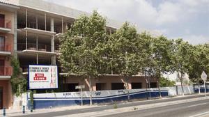 Apartamentos en construcción en Salou.