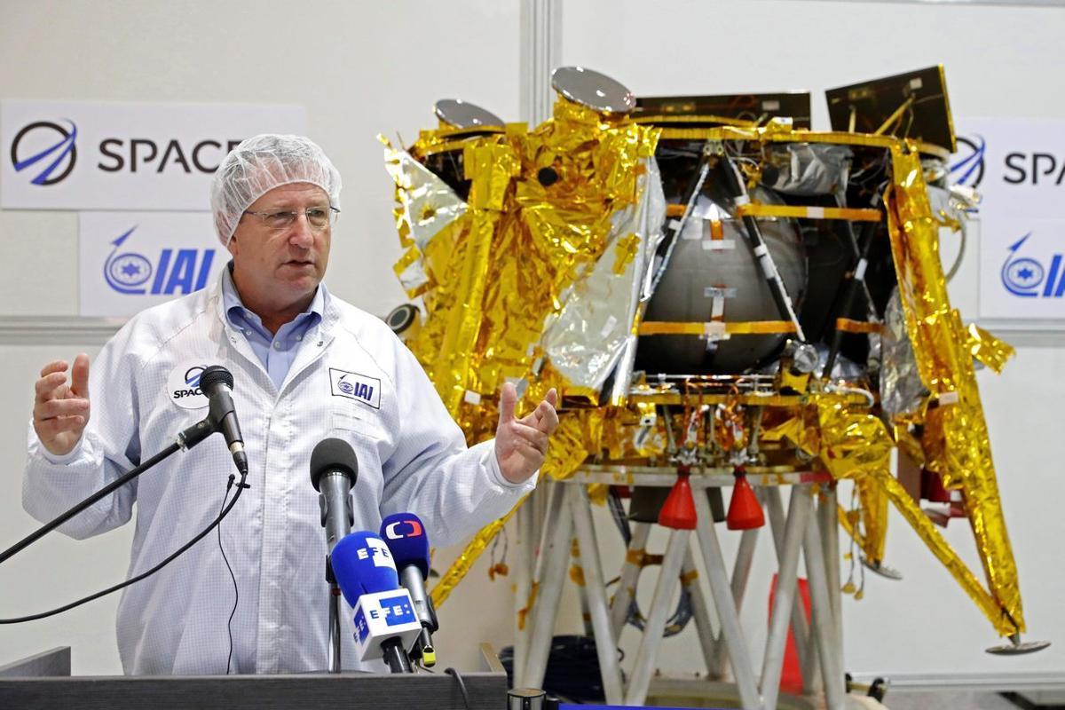 Bereshit es un módulo que pesa 585 kilos, mide unos 1,5 metros y ha costado 88,1 millones de euros.