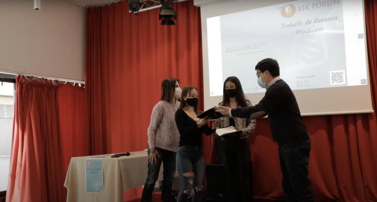 El XIX Fòrum de Treballs de Recerca dona visibilitat a la recerca dels joves de Viladecans
