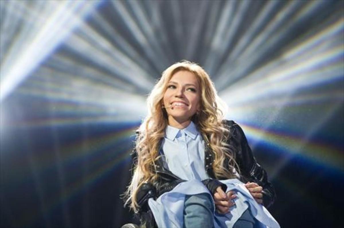Yúlia Samóylova, la cantante rusa vetada por Ucrania.