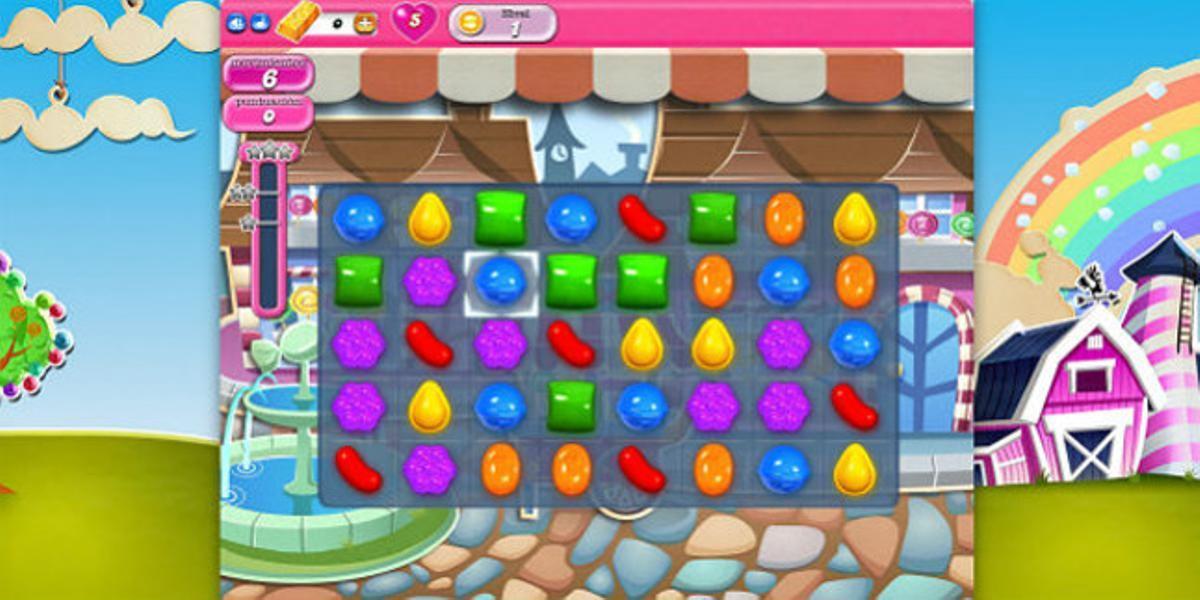 Imagen del juego Candy Crush Saga.