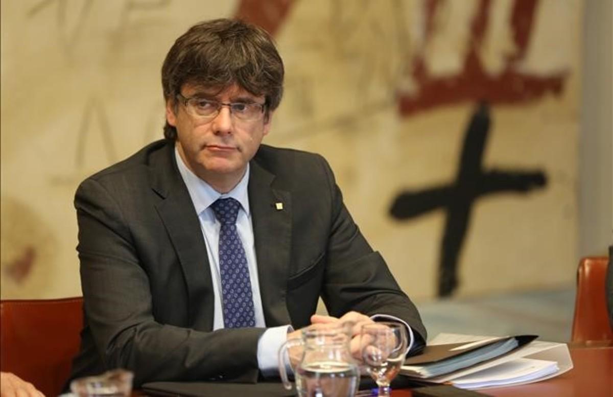 El 'president' de la Generalitat, Carles Puigdemont.