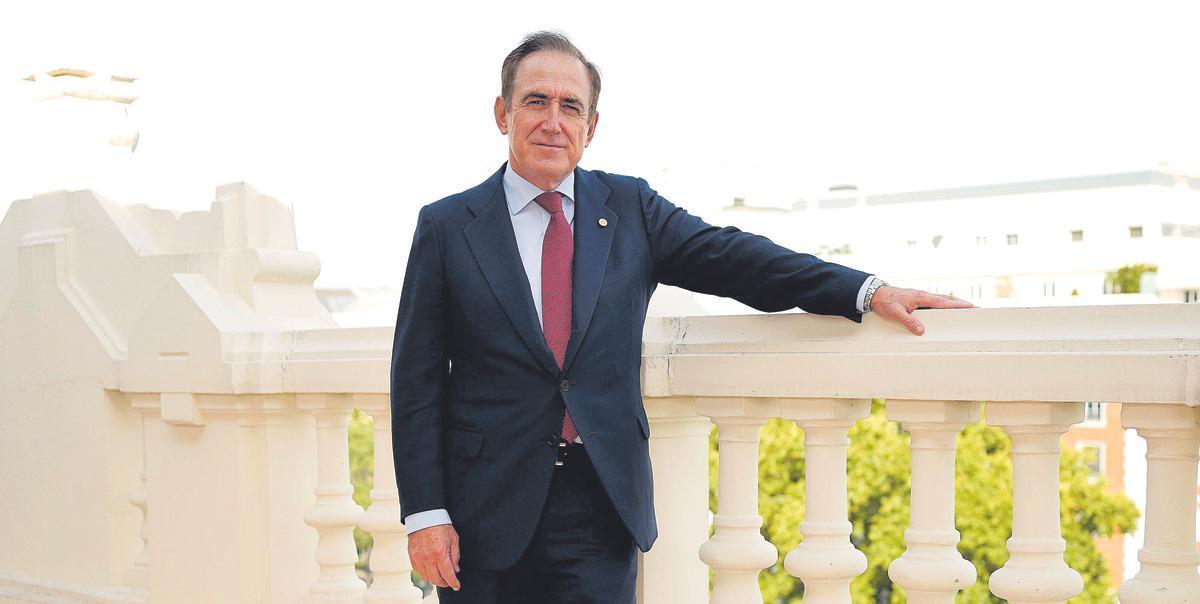 Presidente de Mapfre, Antonio Huertas