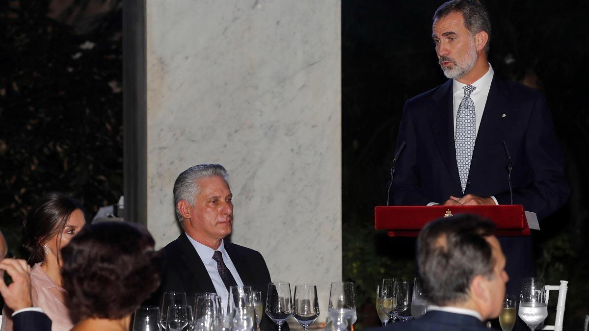 Felipe VI, en Cuba: Los cambios en un país no pueden ser impuestos.