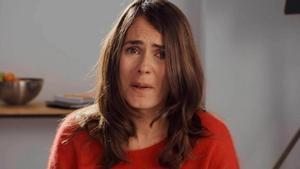 La actriz Anna Allen, en un monólogo de la serie 'Paquita Salas'.