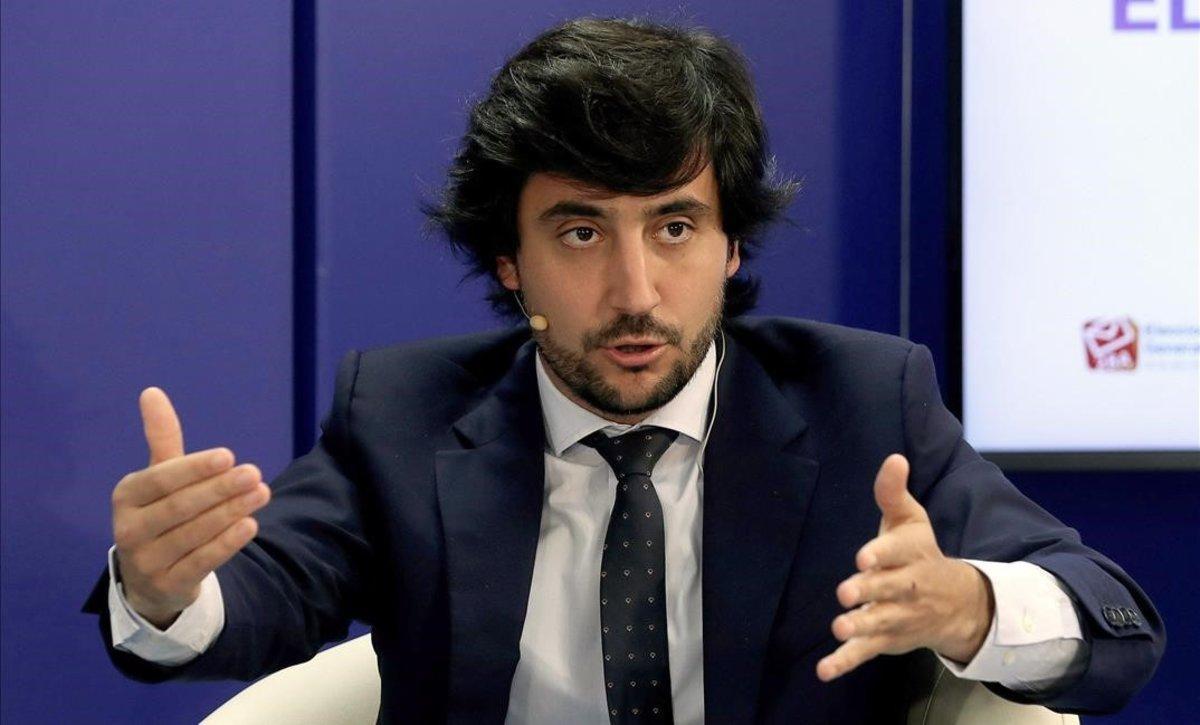 Toni Roldán, el hasta hora portavoz económico de Ciudadanos en el Congreso.