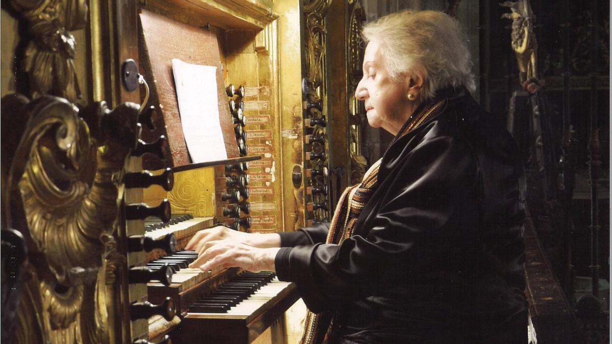 La organista Montserrat Torrent, Premio Nacional de Música 2021.