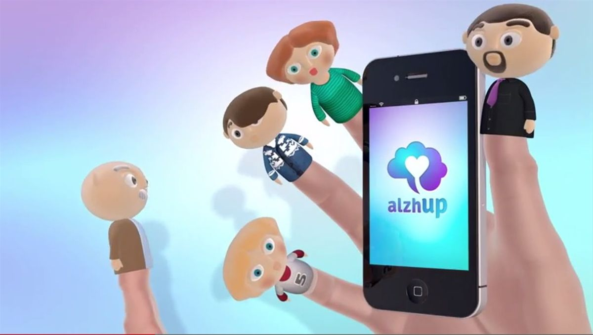 'AlzhUp', la 'app' para combatir el alzhéimer.