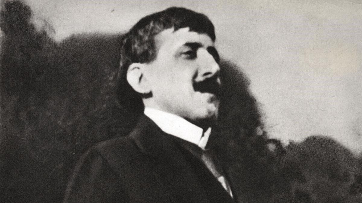 Una imagen del escritor francés Marcel Proust.