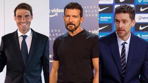 Rafa Nadal, personatge més ben valorat de l'any per davant de Pau Gasol i Antonio Banderas