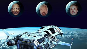 La auténtica guerra de las galaxias: Bezos, Branson y Musk se disputan la carrera espacial