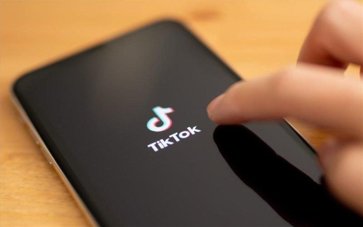 La famosa apliación TikTok.