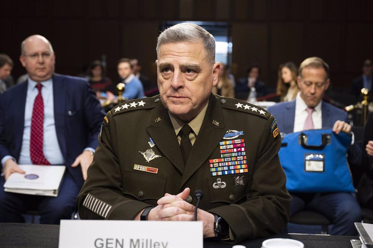 El jefe del Estado Mayor del Ejército de EEUU, el general Mark Milley.