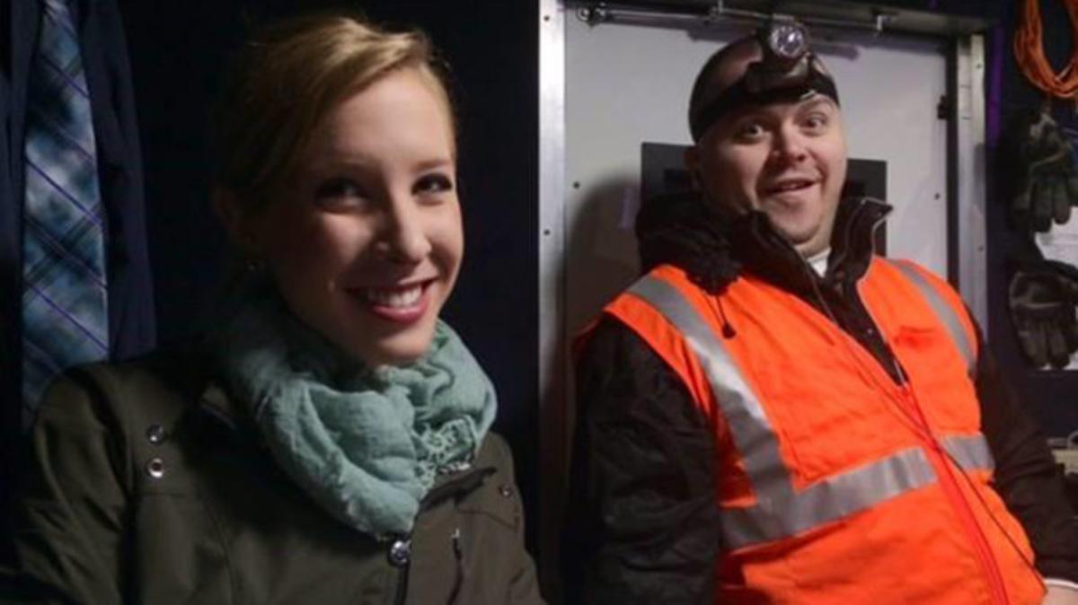 La reportera Melissa Ott y el cámara Adam Ward, que han sido asesinados durante una conexión en directo en Virginia.