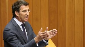 Les declaracions d'aquest dijous de Núñez Feijóo.