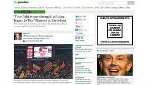 'The Guardian' rinde homenaje a Tito Vilanova
