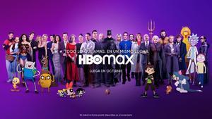 Imagen promocional de HBO Max