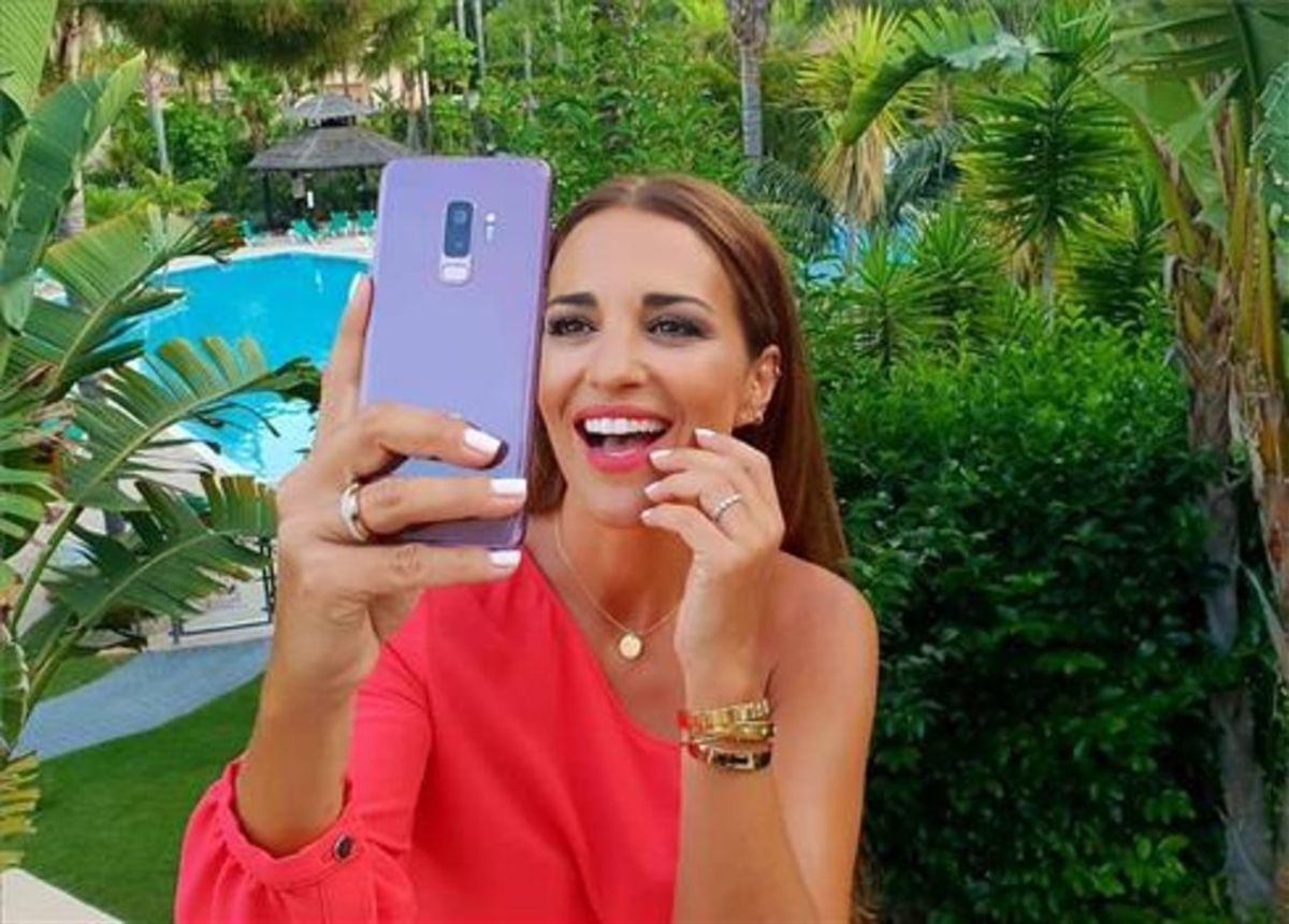 La actriz, Paula Echevarría, es una de las mayores influencers con más de un millón de seguidores en Instagram.