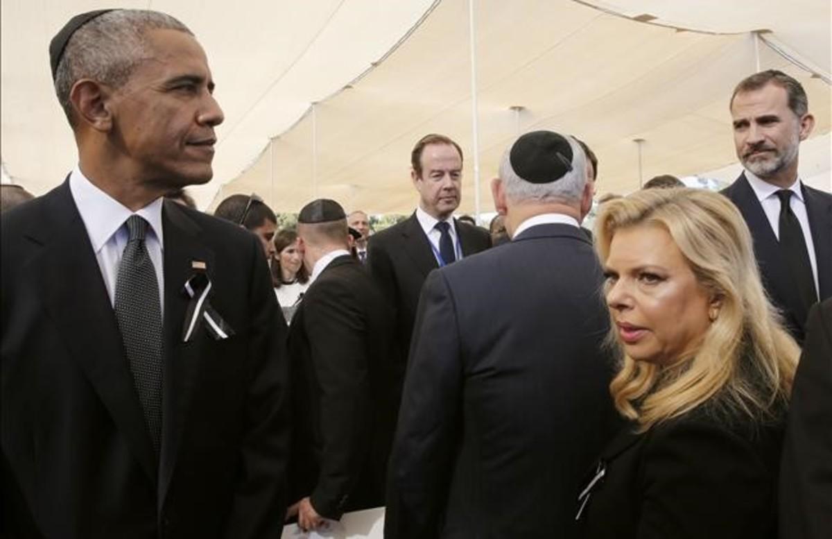 Dirigentes de todo el mundo dan el último adiós a Shimon Peres