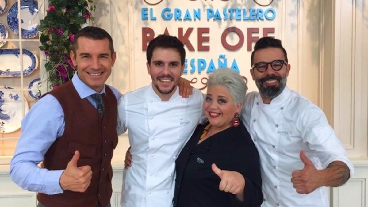 Jesús Vázquez y los jueces de 'Bake off'