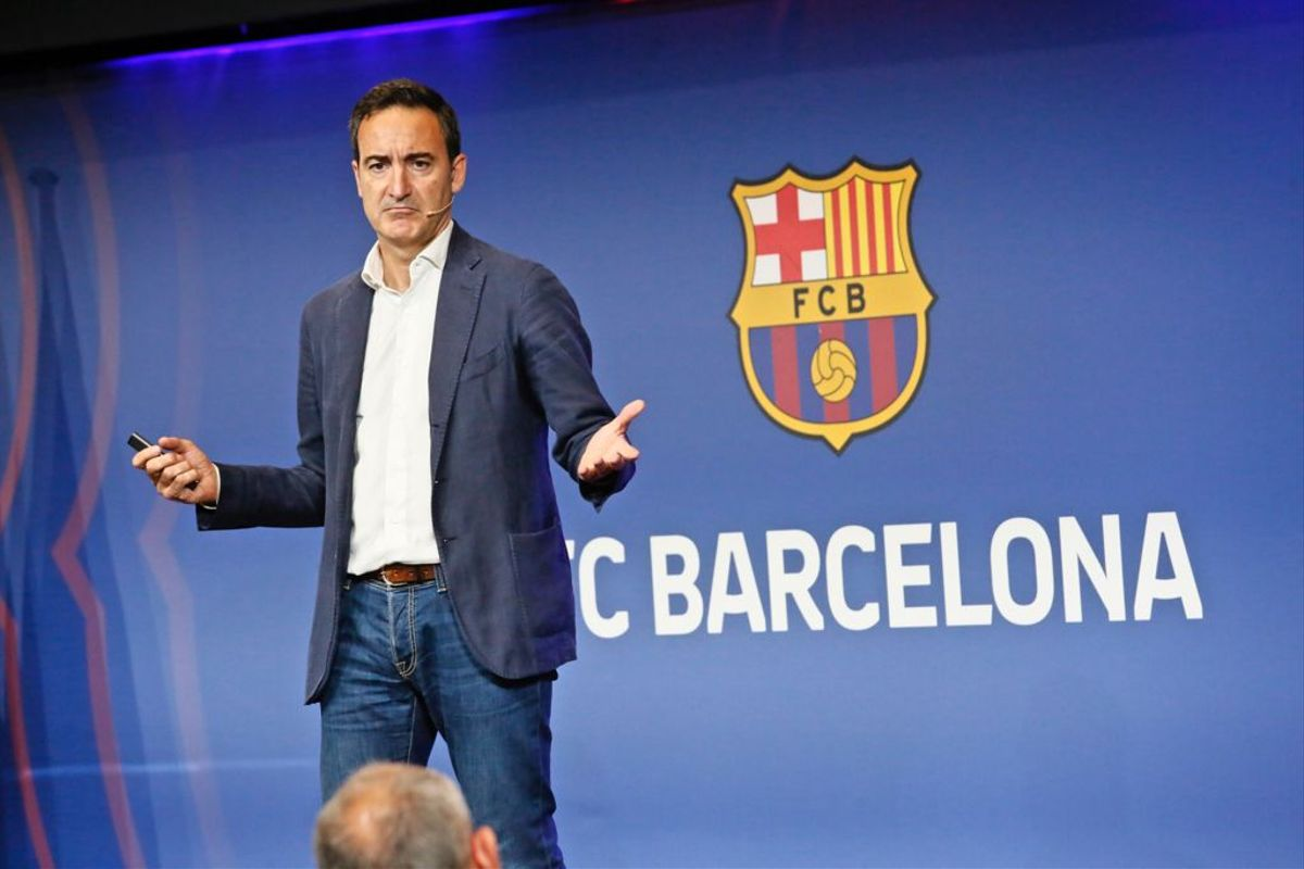 Reverter revela que el Barça estava en fallida a l'abril