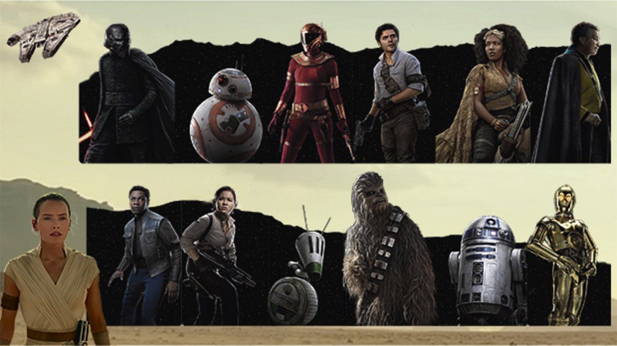 Guía De Los Personajes De Star Wars El Ascenso De Skywalker