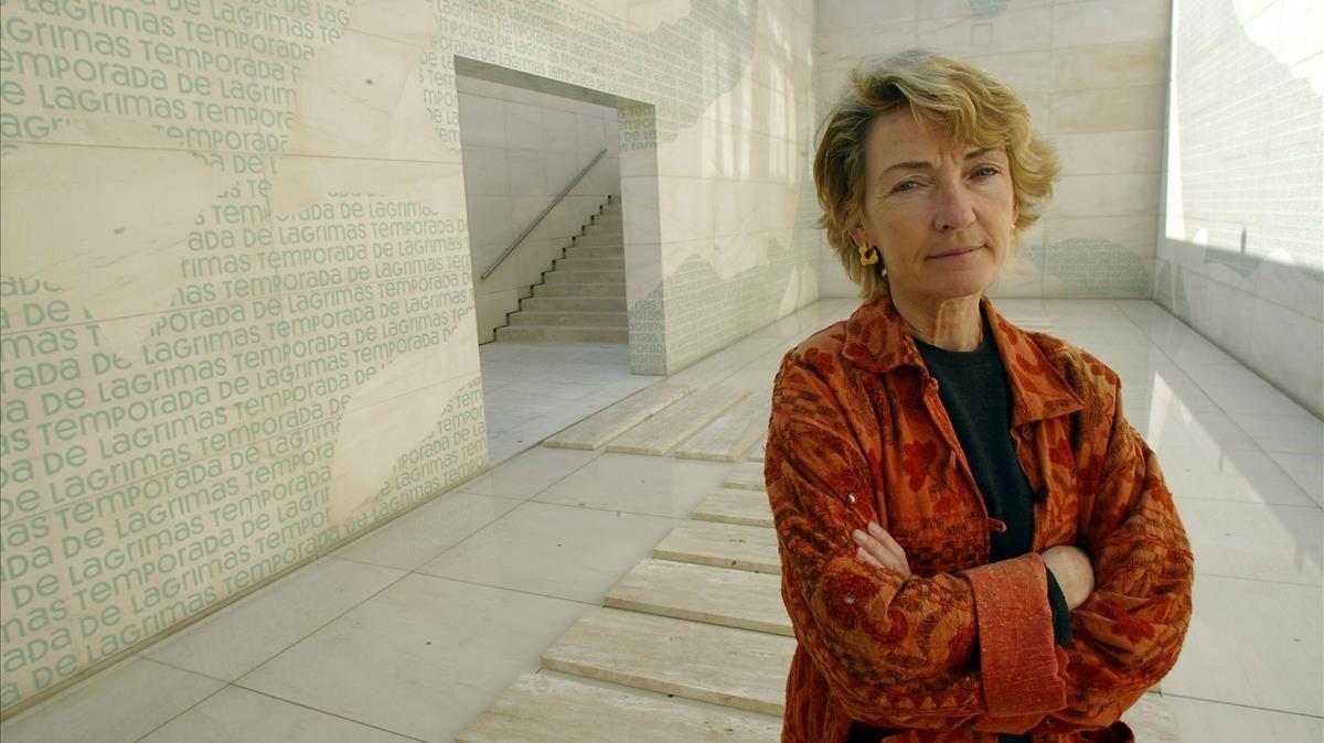 Soledad Sevilla guanya el Premi Velázquez d'Arts Plàstiques