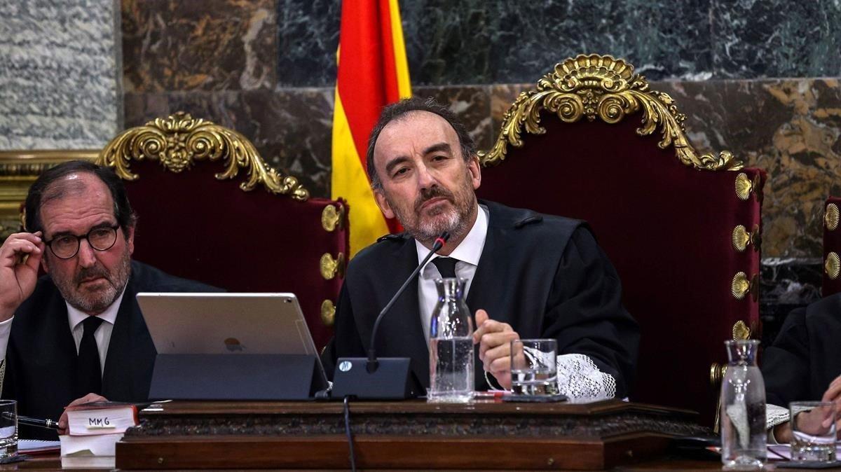 El juez Manuel Marchena.