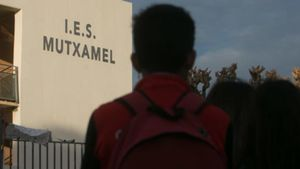 El instituto de Mutxamel, en una imagen de archivo.