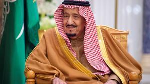 El rey de Arabia Saudí, en una foto tomada el 1 de enero del 2020.