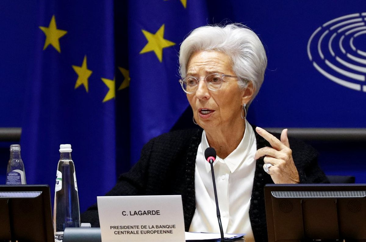 European Central Bank President Christine Lagarde testifies before the European Parliament's Economic and Monetary Affairs Committee in Brussels, Belgium February 6, 2020. REUTERS/Francois Lenoir