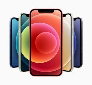 Apple iPhone 12, paleta de colores.