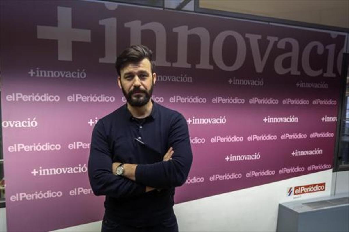 ANTONIO RENOM.El consejero delegado de Levante Capital, en las instalaciones de EL PERIÓDICO, en Barcelona.