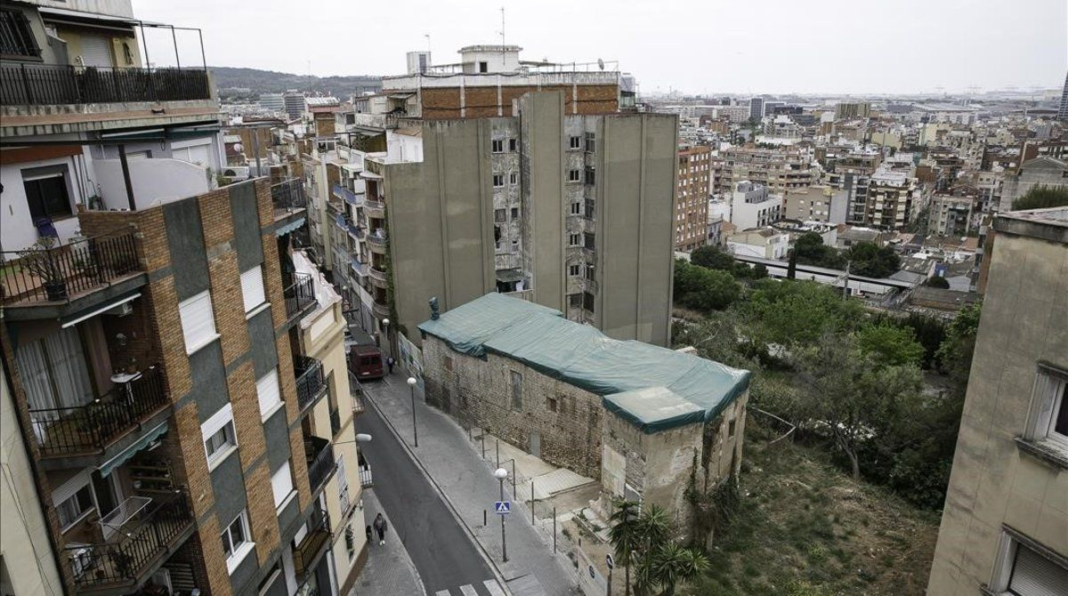 El Castell de Bellvís, que dio nombre al barrio de La Torrassa.