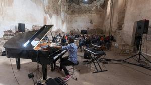 Concierto de Carles Viarnès en el festival Terrer