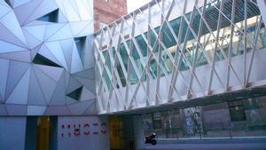 Entrada del Museo ABC de Madrid.